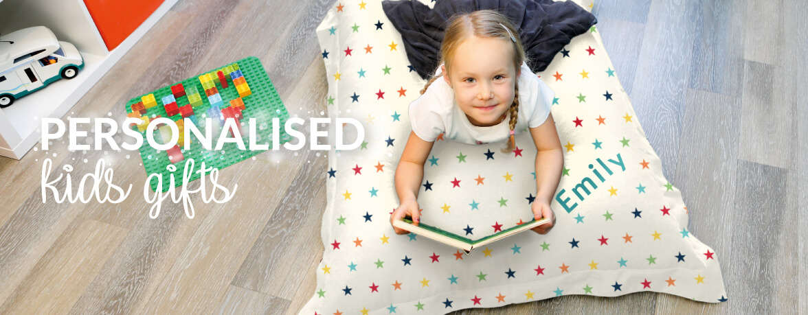 Personalised Kids Bean Bags and Gifts