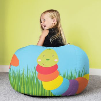Caterpillar Animal Beanbag