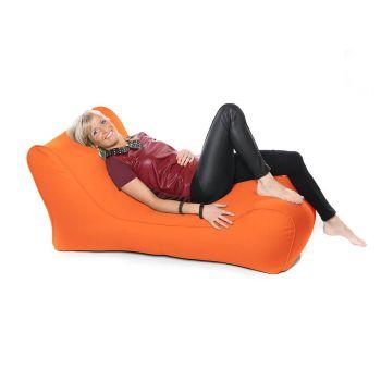 Indoor / Outdoor Solo Lounger - Orange