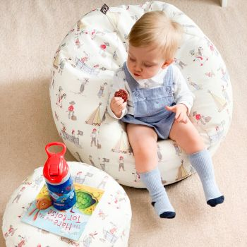 Belle & Boo 'Pirate Games' Small Kids Beanbag - toddler bean bag