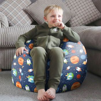 Outer Space Kids Classic Bean Bag