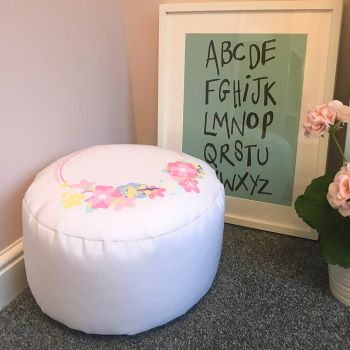 Platinum Unicorn Kids Stool