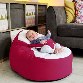 Gaga+ Baby to Junior Beanbag in Cerise Pink
