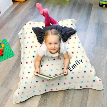 Rainbow Stars Bean Bag