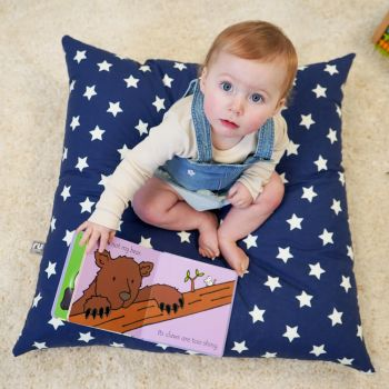 Glow in The Dark Stars Floor Cushion