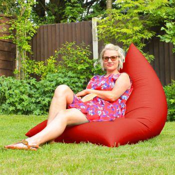 Humbug Beanbag - Large - Indoor/Outdoor - Red
