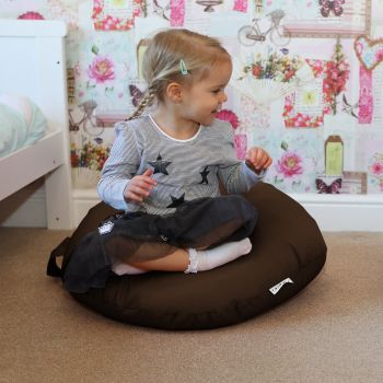 Brown Indoor/Outdoor Kids Smarty Cushion Beanbag