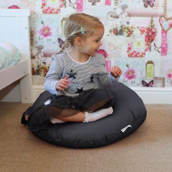 Grey Indoor/Outdoor Kids Smarty Cushion Beanbag