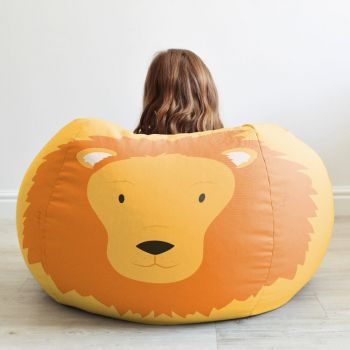 Kids Lion Animal Bean Bag medium