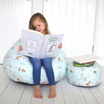 Belle & Boo Mermaid Play Kids Classic Beanbag