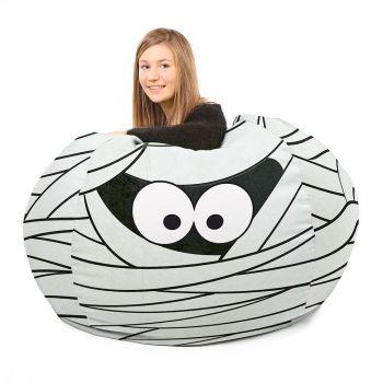 Mummy Halloween Beanbag
