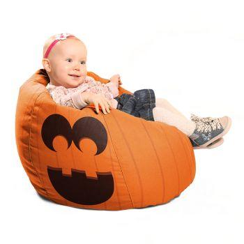Pumpkin Halloween Beanbag