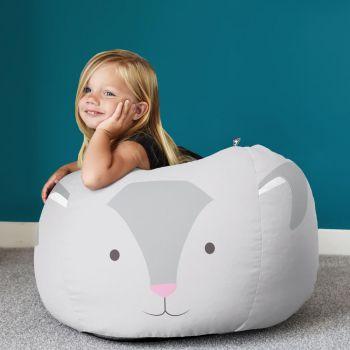 Kids Rabbit Animal Beanbag Small