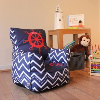 Toddler Chair in Sailor design