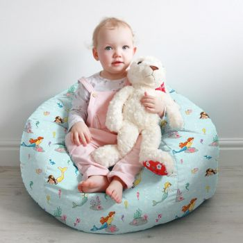 Mermaid Play Small Kids Beanbag