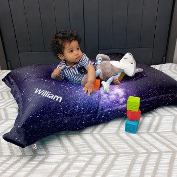 Space Galaxy Squarbie kids bean bag