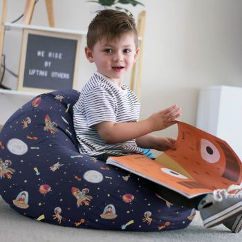 Belle & Boo Space Adventure Small Kids Beanbag