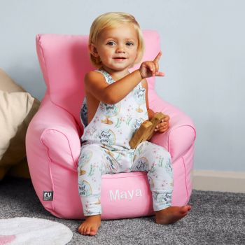 Toddler Armchair in Baby Pink