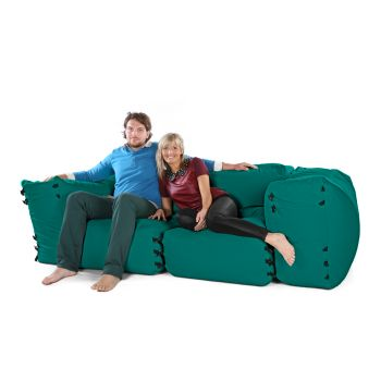 Comfy Buckled Modular Chair Bean Bag