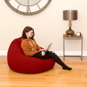 Trend Extra Large Slouchbag Bean Bag In Red