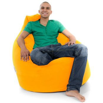 Comfy Whopper Beanbag in Yellow