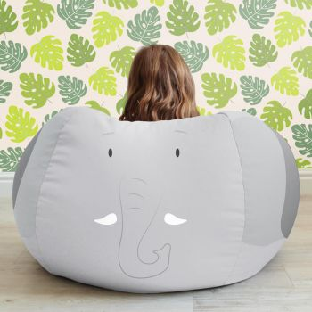 Kids Elephant Kids Bean Bag - medium