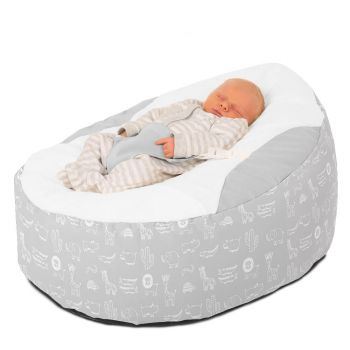Platinum Zoo Animals Gaga Baby Beanbag