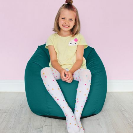 Cotton Kids Classic Beanbag in Jade