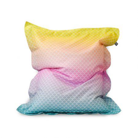 Mermaid Ombre Squarbie™ Bean Bag - Large