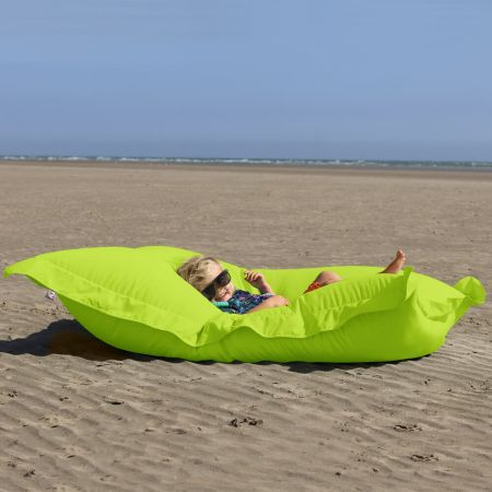 Extra Large Squarbie Adult Beanbag in Lime Greeb