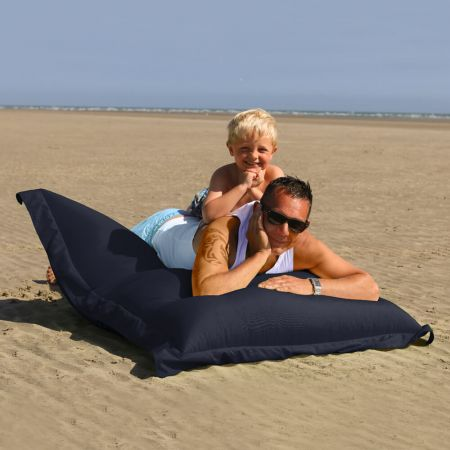 Extra Large Squarbie Adult Beanbag in Navy Blue