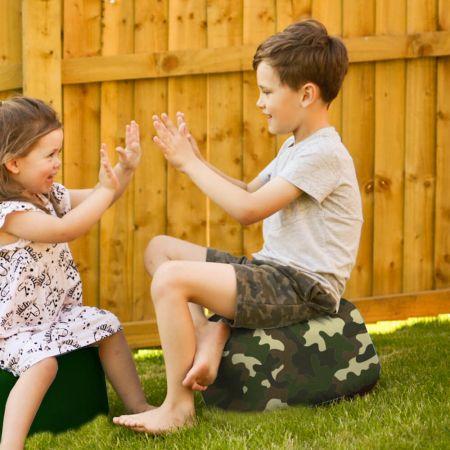 Camouflage Kids Stool - Indoor/Outdoor