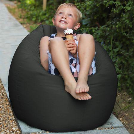 Grey Indoor/Outdoor Kids Classic Beanbag