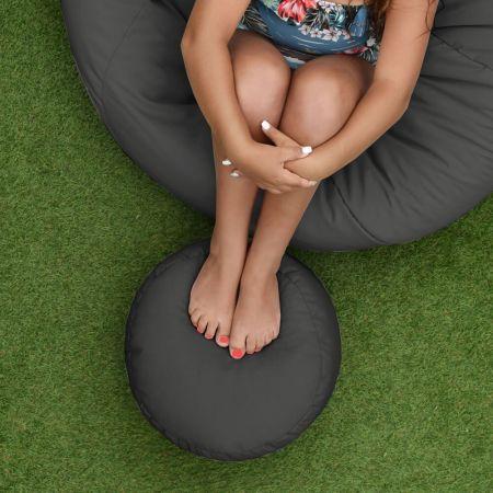 Bigger and Better Indoor/Outdoor Round Footstool