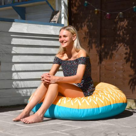 Sunburst Floor Cushion