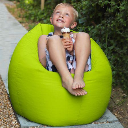 Lime Green Indoor/Outdoor Kids Classic Beanbag