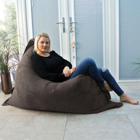 Extra Large Squarbie Bean Bag - Velvet - Mole