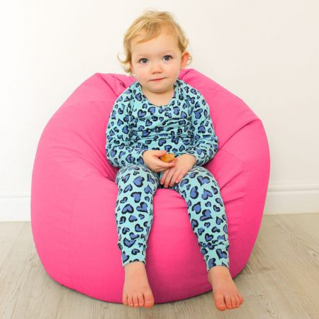 Kids Classic Trend Bean Bag - Hot Pink