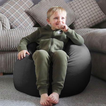 Trend Kids Classic Bean Bag in Slate Grey