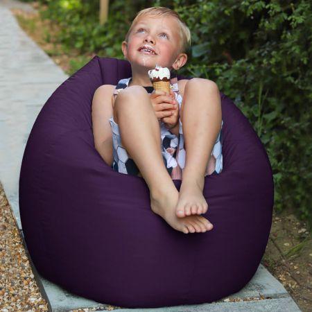 Purple Indoor/Outdoor Kids Classic Beanbag