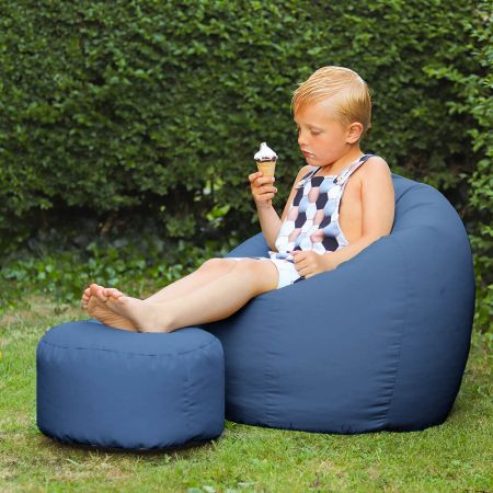 Royal Blue Indoor/Outdoor Kids Classic Beanbag