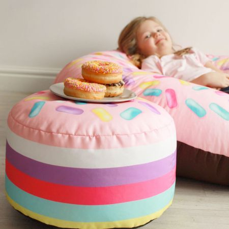 Strawberry Donut Hold Kids Stool
