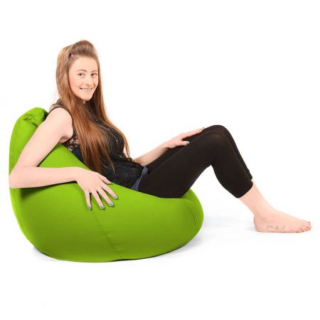 Large Classic Beanbag Trend Lime Green