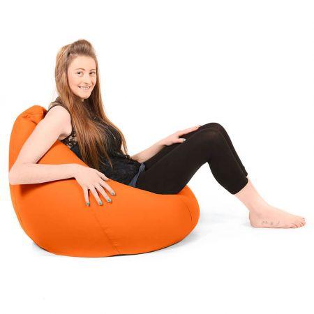 Large Classic Beanbag Trend Orange