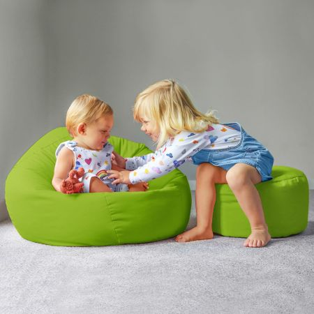 Trend Small Kids Beanbag In Lime Green