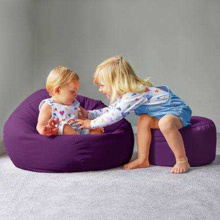 Trend Small Kids Beanbag In Purple