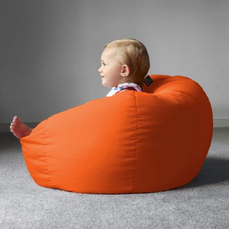Trend Small Kids Beanbag In Orange