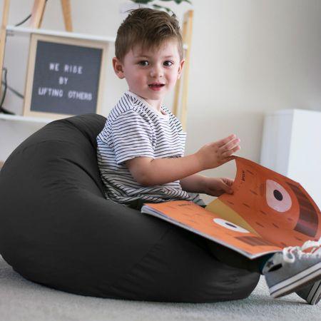 Trend Small Kids Beanbag In Slate Grey