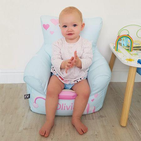 Unicorn Toddler Bean Bag Chair