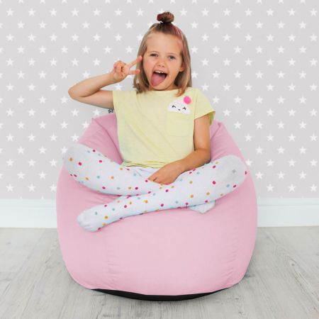 Comfy Kids Classic Baby Pink Bean bag